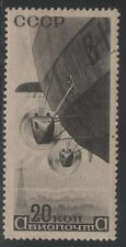 1934 Russia Scott C56 20k black Sideview of Airship Mint Hinged