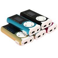MINI giocatore della clip USB lettore MP3 schermo LCD 16GB TF card mini SD E0A7