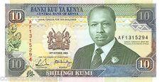 Kenya 10 Shilingi 1989 Unc pn 24a
