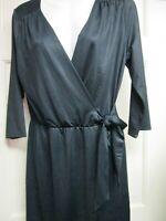 Black Wrap Style Dress by Mud Pie, Size Small (4-6), New