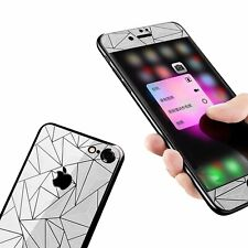 Diamond Screen Protector for Iphone 7 3d Diamond Screen Protector,front & Back.