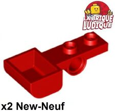 Lego - 2x Plate Modified 1x4 catapulte catapult rouge/red 88289 NEUF