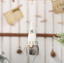 2020 Christmas Faceless Gnome Santa Xmas Tree Hanging Ornament Doll Decoration