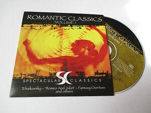 CD Série Spectaculars Classics - romantic classics volume 1 (pochette cartonnée)