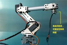 mechanical arm 6 servo freedom manipulator abb industrial robot model six axis