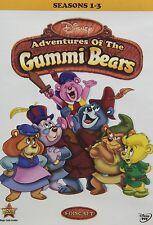 Disney's Adventures of the Gummi Bears Seasons 1-3 1 2 3 RARE! NEW! Gummy Bears!
