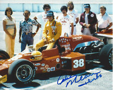 RICK MEARS SIGNED AUTHENTIC INDY 500 4X WINNER 8X10 PHOTO D w/COA ROCKET DRIVER
