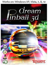 Dream Pinball 3D PC Game Windows XP Vista 7 8 10