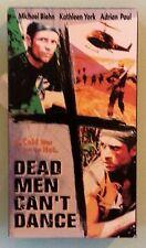 michael biehn  DEAD MEN CAN'T DANCE  kathleen york  VHS VIDEOTAPE