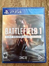 Battlefield 1: Early Enlister Deluxe Edition PlayStation 4 PS4 *NEW* SHIPS FREE