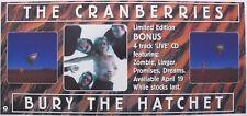 "CRANBERRIES ""BURY THE HATCHET"" AUSTRALIAN PROMO POSTER /BANNER-Group & Cover Art"