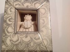 "Margaret Furlong 3"" Sea Shell Angel The Gift 1991 Christmas Ornament"