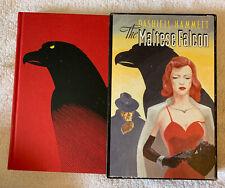 The Maltese Falcon Dashiell Hammett Folio Society Slipcover Hb