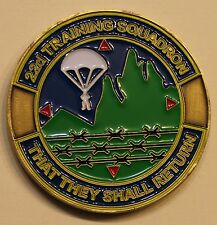 22d Training Sq Survival Evasion Resistance Escape SERE Air Force Challenge Coin