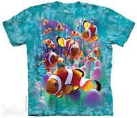 Clownfish Kids T-Shirt from The Mountain. Tropical Clownfish Child Sizes NEW