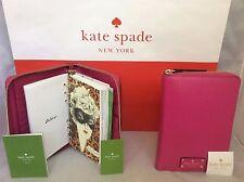 NWT Kate Spade Sweetheart Pink Wellesley Grove Street 2017 Planner Agenda
