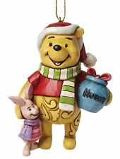 Disney Traditions Winnie The Pooh Hanging Christmas Ornament Figurine 9cm A27551
