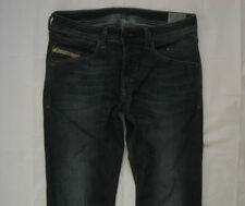Diesel Cotton Indigo, Dark wash High Rise Jeans for Men