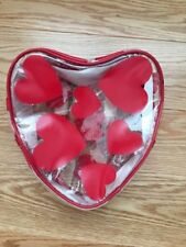 NEW NWT Vintage Gymboree Clear Red Heart Sparkle Valentines Day Backpack Purse