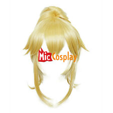 Mario Princess Koopa Bowsette Princess Peach Blonde Long Cosplay Wig