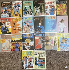 Ms. Tree Comic Lot VF/NM Including 7,14,16,17,19-24,26-32,46,48,& # 1 July 1987