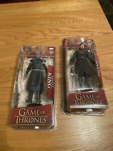Game Of Thrones McFarlane Figures Night King & Jon Snow