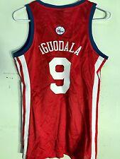 Adidas Women's NBA Jersey Philadelphia 76ers Iguodala Red sz XL