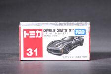 Takara Tomy Tomica 31 Chevrolet Corvette ZR1 Black 1/64 Mini Diecast Car