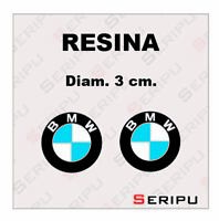 X2 DECAL LOGO BMW ALTA CALIDAD  VINILO RESINA PEGATINA STICKER TUNING