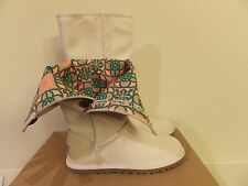 Womens Size Sz 5 UGG Australia (Youth 3) Marrakech Ivory Tall Boots 1002409 NAT