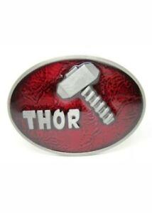 Marvel The Mighty Thor Enamel Belt Buckle