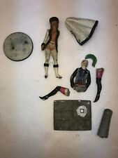 Vtg 1987 1990 PHOENIX MODEL DEVELOPMENT LTD Cast Metal RUSSIAN woman PUNK Pieces