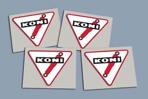 Koni Sticker 4er Set CIH Ascona Manta Kadett