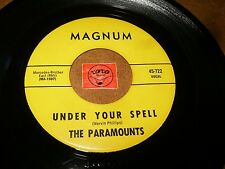THE PARAMOUNTS - UNDER YOUR SPELL - TIME WILL BRING   - LISTEN / SOUL POPCORN