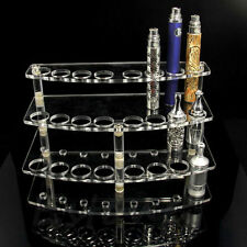 Acrylic 3 Tier Vape Stand Display 510 Drip Nozzle Holder