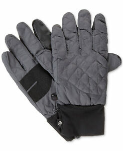 New Isotoner Signature Men's Quilted Gloves Size S / M and L / XL MSRP $55.00