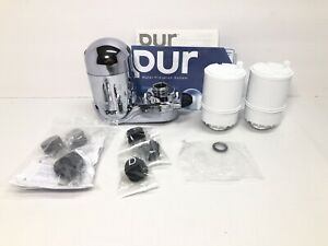 PUR FM-3700B Faucet Mount Filter + 2 Filters Extra