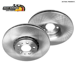 Front OE Disc Brake Rotors For 2007 2008 2009 2010 2011 - 2014 Volvo XC90