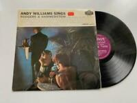 Andy Williams Sings Rodgers and Hammerstein 1959 Vinyl Album Record Disc LP