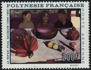 FrenchPolynesia SCC48 The Meal by Paul Gauguin MNH 1968