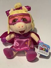 "Disner Junior Muppet Babies Super Fabulous Piggy Plush 6"" NEW"