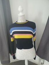 Topshop Knitted Crop Jumper Size S 8/10