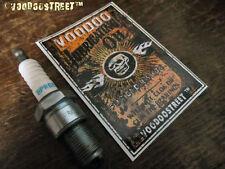 HOT ROD STICKER, OILCAN STICKER RUST, RATLOOK  DESIGN,  by VOODOO STREET™, New!