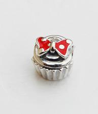 "Genuine Pandora Disney Charm ""Minnie Cupcake"" - 791463EN09 - retired"