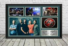 More details for foo fighters signed photo print autographed poster memorabilia