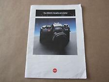 Vintage Leica R5 Verstile and Creative Booklet (Printed in West Germany)