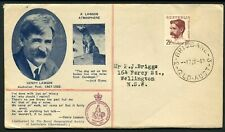 Australia 1949 Lawson - Geographical Society Fdc