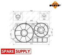 FAN, RADIATOR FOR FORD NRF 47450
