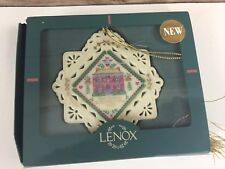 Lenox First Christmas In Our New Home 1998 Ornament with Original Box