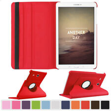 360 Rotate Stand Case PU Flip Leather Cover For Samsung GALAXY Tab S2 / S3 8 9.7